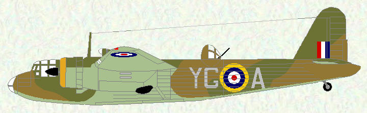 Botha I of No 502 Sqn