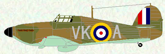 Hurricane I of No 504 Squadron