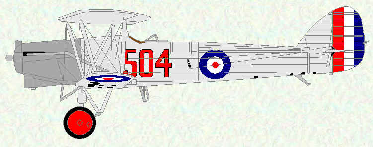 Horsley of No 504 Squadron
