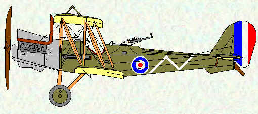 RE8 of No 52 Squadron
