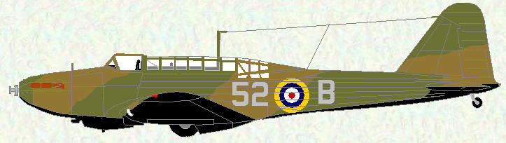 Battle I of No 52 Squadron