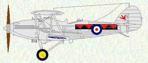 Demon of No 601 Squadron