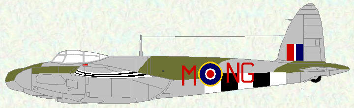 Mosquito XIII of No 604 Squadron