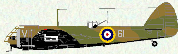 Blenheim I of No 61 Squadron