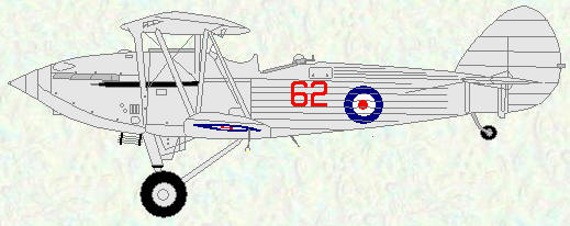Hawker Hind of No 62 Squadron