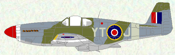 Mustang III of No 65 Squadron