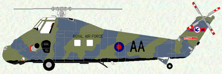 Wessex HC Mk 2 of No 72 Squadron