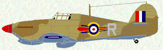 Hurricane IIB of No 73 Squadron