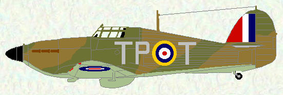 Hurricane I of No 73 Squadron