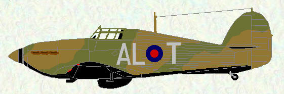 Hurricane I of No 79 Squadron