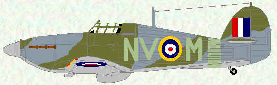 Hurricane IIb of No 79 Squadron (1941)