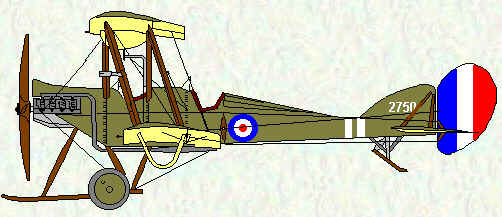 BE2c of No 7 Squadron