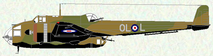 Hampden I of No 83 Squadron