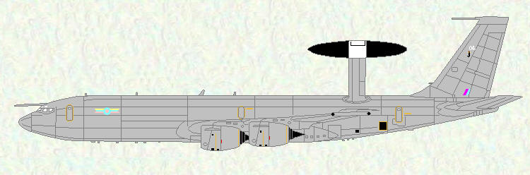 Sentry AEW Mk 1 of No 8 Squadron