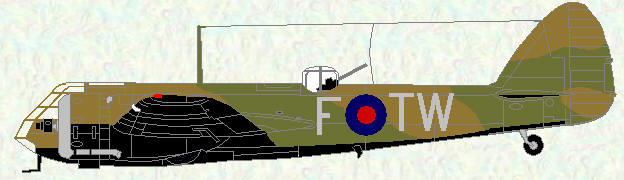 Bristol Blenheim of No 90 Squadron (coded TW)