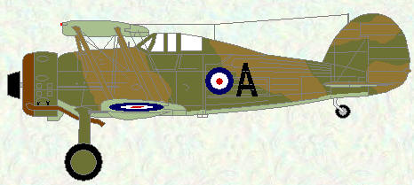 Gladiator I of No 94 Squadron