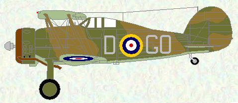 Gladiator II of No 94 Squadron