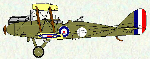 DH 9 of No 99 Squadron