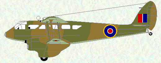 Dominie I as used by No 271 Squadron