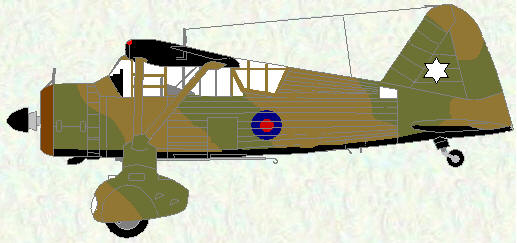 Lysander II as used by No 613 Squadron