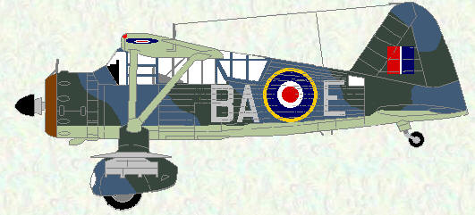 Lysander III of No 277 Squadron
