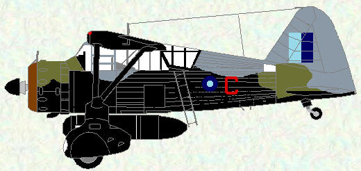 Lysander IIIA (SD) of No 357 Squadron