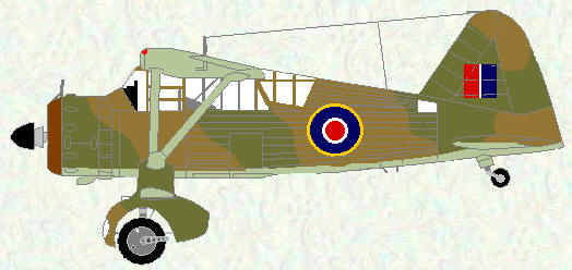 Lysander III as used by No 231 Squadron