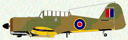 Martinet I as used by No 269 Squadron