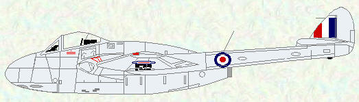 Vampire FB Mk 5 as used by No 20 Squadron