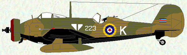 's aircraftWellesley I of No 223 Squadron - 1938, Squadron Commanders