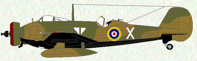 Wellesley I of No 223 Squadron - 1939