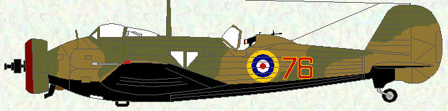 Wellesley I of No 76 Squadron - July 1937
