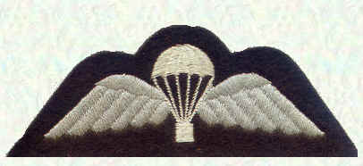 Qualified parachutist - serving in an airborne unit