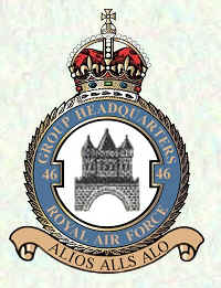 No 46 Group Badge