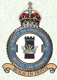 No 61 Group Badge
