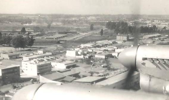 An aerial view of Salisbury in Southern Rhodesia