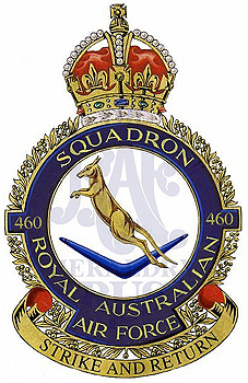 No 460 Squadron badge