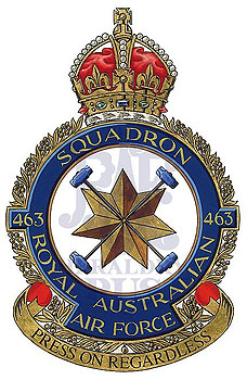 No 463 Squadron badge