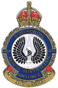 No 464 Squadron badge