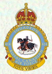 No 414 Squadron Badge