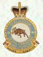 No 419 Squadron Badge