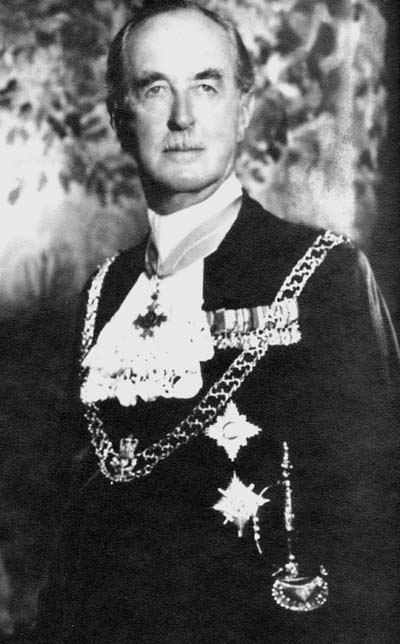 Air Vice-Marshal Sir Paul Maltby (pictured as Black Rod)