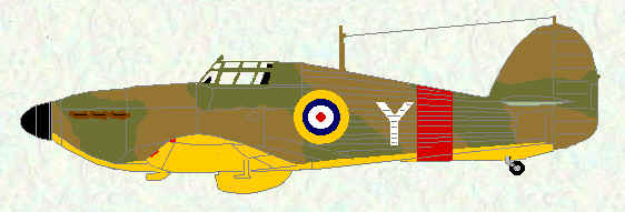 Hurricane I of No 6 Operational Training Unit