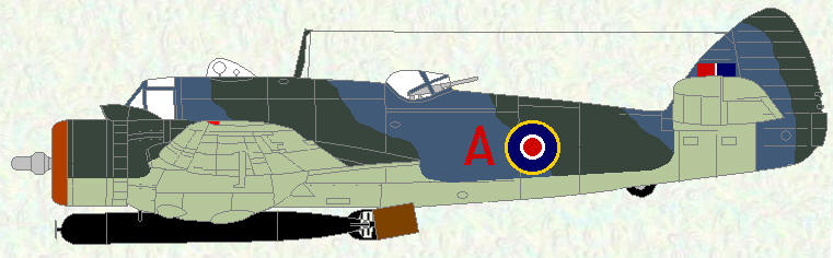 Beaufighter X of No 144 Squadron