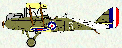 DH 9 of No 144 Squadron