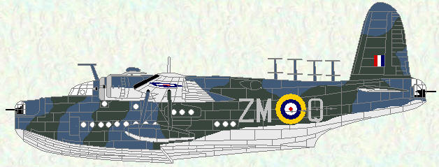 Sunfderland II of No 201 Squadron (early 1941)