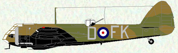 Blenheim IF of No 219 Squadron