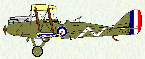 DH9 of No 98 Squadron