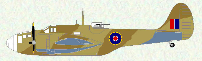 Baltimore V as used by No 249 Squadron