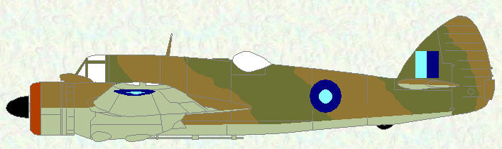 Beaufighter I (SEAC markings)